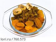 Купить «Сушеные фрукты», фото № 760573, снято 7 февраля 2009 г. (c) Алексей Лебедев-Реллер / Фотобанк Лори