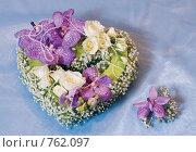Цветочное сердце. Стоковое фото, фотограф Ольга Харламова / Фотобанк Лори