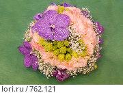 Купить «Цветочная композиция с орхидеей», фото № 762121, снято 13 февраля 2009 г. (c) Ольга Харламова / Фотобанк Лори