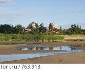 Вид на Сестрорецк с Финского залива. Стоковое фото, фотограф Виталий Фурсов / Фотобанк Лори