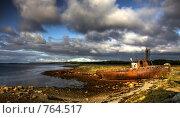 Купить «На берегу Белого моря», фото № 764517, снято 15 августа 2018 г. (c) Евгений Шелковников / Фотобанк Лори