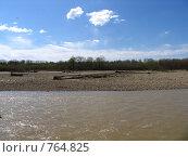 Курганинск, река Лаба. Стоковое фото, фотограф Андрей Авдеев / Фотобанк Лори
