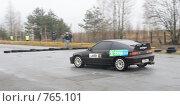 Купить «Спортивная машина на треке», фото № 765101, снято 25 февраля 2009 г. (c) Никончук Алексей / Фотобанк Лори