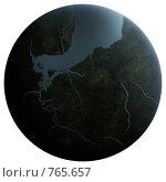 Купить «Планета пангея», иллюстрация № 765657 (c) sav / Фотобанк Лори