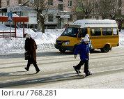 Купить «Пешеходы», фото № 768281, снято 13 февраля 2009 г. (c) Дмитрий Лемешко / Фотобанк Лори