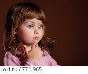 Купить «Детское удивление», фото № 771965, снято 21 июля 2007 г. (c) Ольга Харламова / Фотобанк Лори