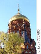 Богоявленская церковь (2007 год). Стоковое фото, фотограф Ольга Кеттинен / Фотобанк Лори