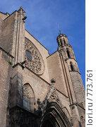 Купить «Santa Maria del Mar», фото № 773761, снято 10 марта 2009 г. (c) Брыков Дмитрий / Фотобанк Лори