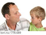 Купить «Дедушка и внук», фото № 778689, снято 23 августа 2006 г. (c) Losevsky Pavel / Фотобанк Лори