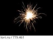 Купить «Бенгальский огонь на черном фоне», фото № 779461, снято 19 февраля 2019 г. (c) Losevsky Pavel / Фотобанк Лори