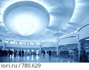 Купить «Холл с большой люстрой», фото № 780629, снято 19 сентября 2019 г. (c) Losevsky Pavel / Фотобанк Лори