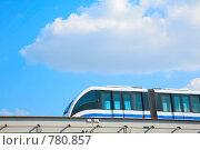 Купить «Московская монорельсовая дорога», фото № 780857, снято 14 ноября 2019 г. (c) Losevsky Pavel / Фотобанк Лори