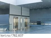 Лифты в помещении. Стоковое фото, фотограф Здоров Кирилл / Фотобанк Лори