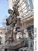 Купить «Памятник Высоцкому в Москве», фото № 786965, снято 29 марта 2009 г. (c) Пиневич Геннадий Александрович / Фотобанк Лори