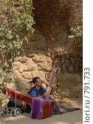 Купить «Уличный музыкант», фото № 791733, снято 12 марта 2009 г. (c) Брыков Дмитрий / Фотобанк Лори