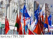 Парад на 9 Мая 2008, Красноярск. Редакционное фото, фотограф Игорь Дорошенко / Фотобанк Лори