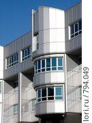 Купить «Современное здание в Уфе», фото № 794049, снято 1 октября 2008 г. (c) Михаил Валеев / Фотобанк Лори