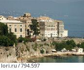 "Вид на район ""Мурайа"". Греция,о.Корфу. (2008 год). Редакционное фото, фотограф Олег Гусев / Фотобанк Лори"