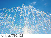 Струи и брызги фонтана. Стоковое фото, фотограф Владимир Кириенко / Фотобанк Лори