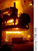 Купить «Электросталеплавильная печь», фото № 798193, снято 15 мая 2008 г. (c) Андрей Константинов / Фотобанк Лори
