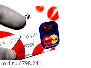 Кредитная карта в руке (2009 год). Редакционное фото, фотограф Елена Панова / Фотобанк Лори