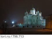 Купить «Успенский Собор. Владимир», фото № 798713, снято 8 февраля 2008 г. (c) Петухов Геннадий / Фотобанк Лори