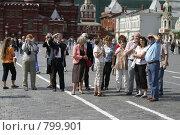 Москва,экскурсия на Красной площади. Редакционное фото, фотограф Дмитрий Неумоин / Фотобанк Лори