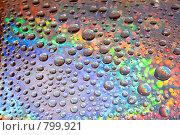 Купить «Капли воды на сверкающем фоне», фото № 799921, снято 20 августа 2018 г. (c) Александр Fanfo / Фотобанк Лори