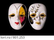 Карнавальные маски. Стоковое фото, фотограф Алексей Ведерников / Фотобанк Лори