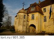 Купить «Замок», фото № 801385, снято 12 ноября 2008 г. (c) Ольга Волкова / Фотобанк Лори