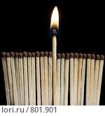 Спички. Стоковое фото, фотограф Андрей Лыженков / Фотобанк Лори