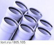 Купить «Сточные трубы», фото № 805105, снято 12 апреля 2009 г. (c) Александр Катайцев / Фотобанк Лори