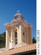 Купить «Ажурная колокольня старинного монастыря», фото № 808089, снято 11 июня 2006 г. (c) Харитонова Ольга / Фотобанк Лори