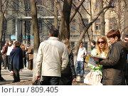 Купить «РГГУ. День открытых дверей.», фото № 809405, снято 12 апреля 2009 г. (c) Андрей Соколов / Фотобанк Лори