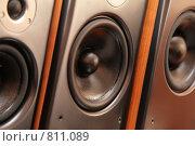 Купить «Музыкальные колонки», фото № 811089, снято 13 ноября 2019 г. (c) Losevsky Pavel / Фотобанк Лори