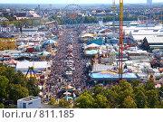 Купить «Парк аттракционов. Октоберфест. Мюнхен», фото № 811185, снято 16 июля 2019 г. (c) Losevsky Pavel / Фотобанк Лори