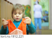 Купить «Девочка в детском саду», фото № 812221, снято 29 декабря 2008 г. (c) Losevsky Pavel / Фотобанк Лори