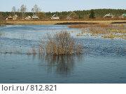 Купить «Весенний паводок», фото № 812821, снято 16 апреля 2009 г. (c) Михаил Яковлев (ktynzq) / Фотобанк Лори