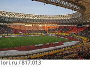 Купить «Внутри стадиона», фото № 817013, снято 29 марта 2009 г. (c) Купченко Владимир Михайлович / Фотобанк Лори