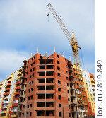 Купить «Строительство», фото № 819849, снято 18 апреля 2009 г. (c) Чехов Дмитрий Валерьевич / Фотобанк Лори