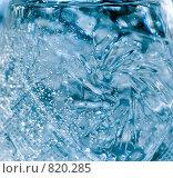 Купить «Фон из хрустального стекла и воды», фото № 820285, снято 20 августа 2018 г. (c) Александр Fanfo / Фотобанк Лори
