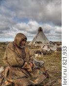 Купить «Ненец», фото № 821933, снято 20 апреля 2018 г. (c) Вадим Морозов / Фотобанк Лори