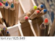 Купить «Карандаши», фото № 825849, снято 22 ноября 2008 г. (c) Горшкова Юлия / Фотобанк Лори