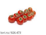 """Купить «Красные помидоры """"черри"""". Малая глубина резкости», фото № 826473, снято 27 марта 2009 г. (c) Руслан Кудрин / Фотобанк Лори"""