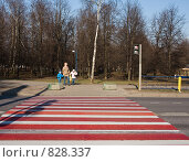 Пешеходный переход (2009 год). Редакционное фото, фотограф Николай Коржов / Фотобанк Лори