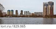 Купить «Строгино.Москва», эксклюзивное фото № 829065, снято 25 апреля 2009 г. (c) Виктор Тараканов / Фотобанк Лори