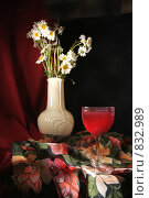 Малиновое вино. Стоковое фото, фотограф Омельян Светлана / Фотобанк Лори