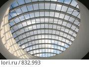 Купить «Стеклянный потолок», фото № 832993, снято 21 апреля 2009 г. (c) Наталья Волкова / Фотобанк Лори