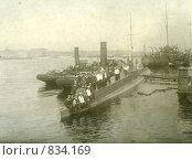 Подводная лодка с экипажем. Стоковое фото, фотограф Ершова Елена / Фотобанк Лори