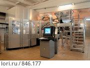 Купить «Автоматизированный комплекс для изготовления молочных продуктов», фото № 846177, снято 6 ноября 2008 г. (c) Максим Иванов / Фотобанк Лори
